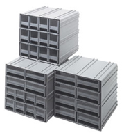 Organize And Store Your Small Parts With The Quantum Storage Modular  Plastic Interlocking Storage Bin Cabinets. Quantumu0027s New Interlocking Bin  Cabinets Have ...